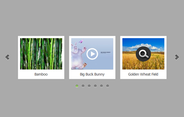 jQuery Carousel with Images and YouTube Videos
