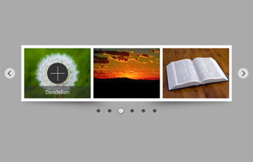 Horizontal jQuery Image Scroller with Video