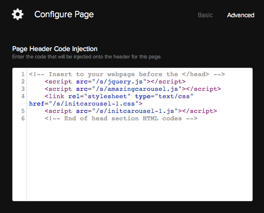 How to Add jQuery Carousel to Squarespace website